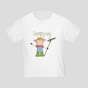 Country Boy Farmer Toddler T-Shirt