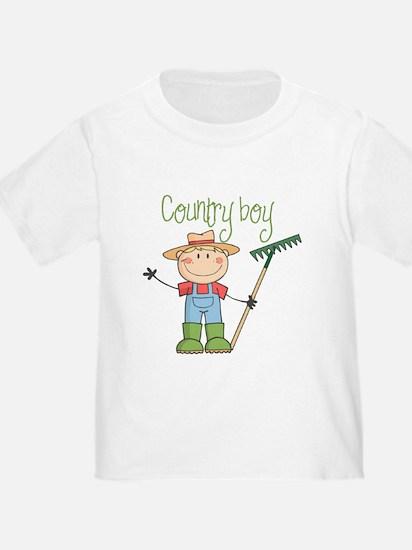 Country Boy Farmer T