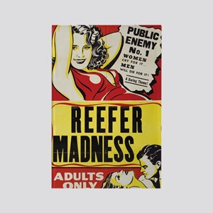 Reefer Madness Rectangle Magnet