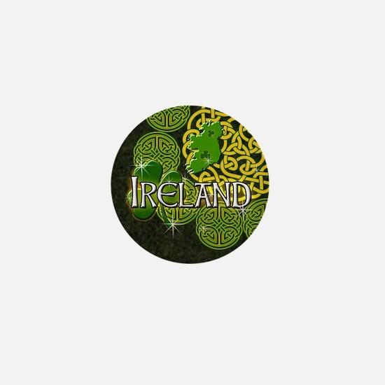 Celtic Ireland Knot work Mini Button