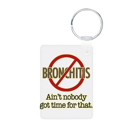 Sweet Brown Aluminum Photo Keychain