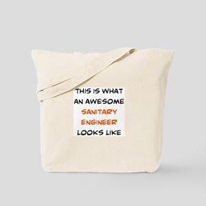 awesome sanitary engineer Tote Bag