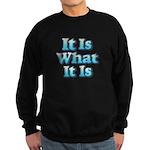 It is What It Is 2 Sweatshirt (dark)