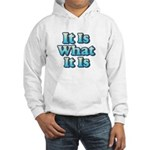 It is What It Is 2 Hooded Sweatshirt