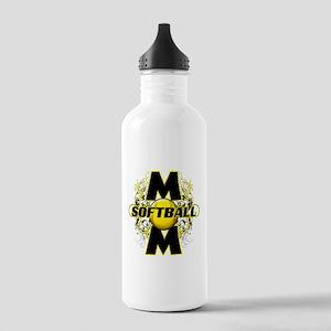 Softball Mom (cross) Stainless Water Bottle 1.0L