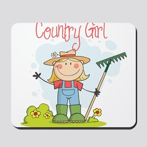 Country Girl Mousepad