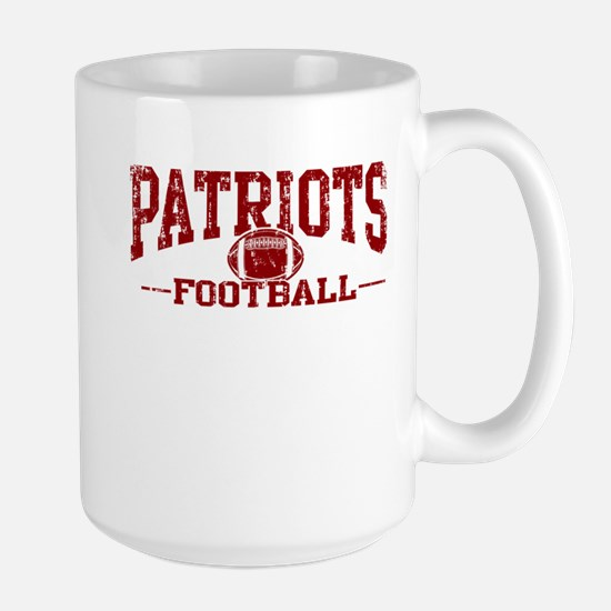 Patriots Football Large Mug
