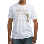 Gaughtwood Lumber Fitted T-Shirt