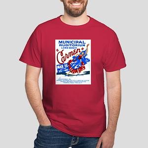 Carmen WPA Poster Dark T-Shirt