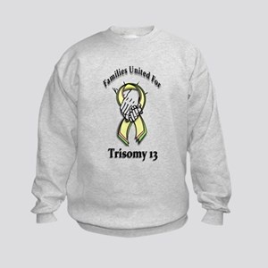 Trisomy 13 United Kids Sweatshirt