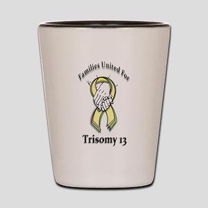 Trisomy 13 United Shot Glass