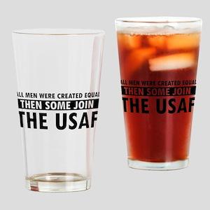 Airforce design Drinking Glass