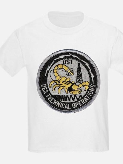 DEA Tech Ops Kids T-Shirt