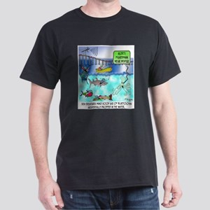 Octopus Texting Dark T-Shirt