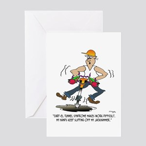 CARP-el Tunnel Syndrome Greeting Card
