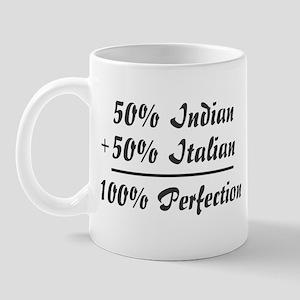 Half Italian, Half Indian Mug