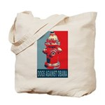 Dogs Against Obama - Fire Hydrant Tote Bag