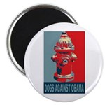 Dogs Against Obama - Fire Hydrant Magnet