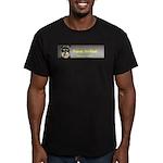 Friends, Not Food Men's Fitted T-Shirt (dark)