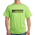 Friends, Not Food Green T-Shirt