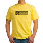 Friends, Not Food Yellow T-Shirt