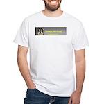 Friends, Not Food White T-Shirt