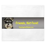 Friends, Not Food King Duvet