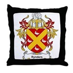 Rynders Coat of Arms Throw Pillow