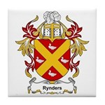 Rynders Coat of Arms Tile Coaster