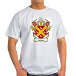 Rynders Coat of Arms Ash Grey T-Shirt
