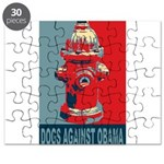 Dogs Against Obama - Fire Hydrant Puzzle