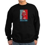 Dogs Against Obama - Fire Hydrant Sweatshirt (dark
