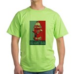 Dogs Against Obama - Fire Hydrant Green T-Shirt