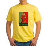 Dogs Against Obama - Fire Hydrant Yellow T-Shirt