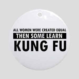 Kungfu design Ornament (Round)