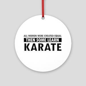 Karate design Ornament (Round)
