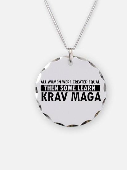 Krav Maga design Necklace