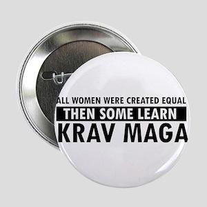 """Krav Maga design 2.25"""" Button"""