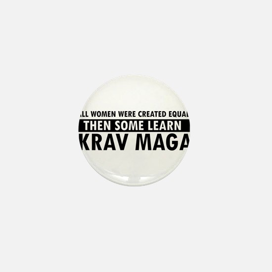 Krav Maga design Mini Button