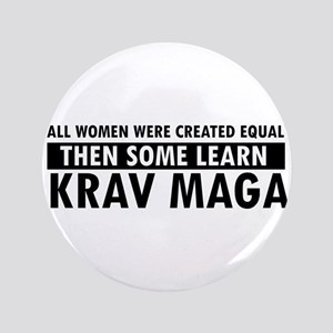 "Krav Maga design 3.5"" Button"