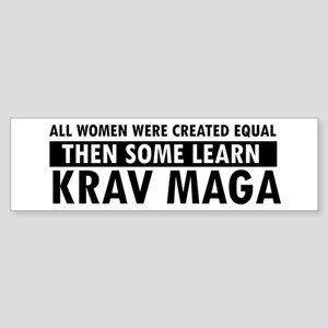 Krav Maga design Sticker (Bumper)