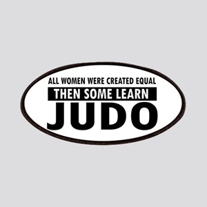 Judo design Patches