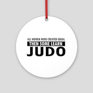 Judo design Ornament (Round)