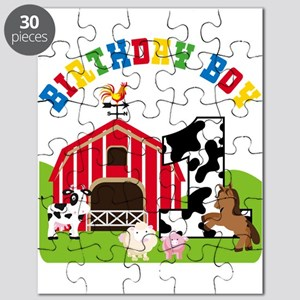 Barnyard 1st Birthday Puzzle
