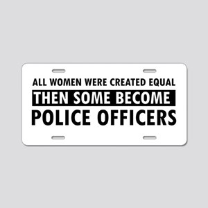 Policeofficer design Aluminum License Plate
