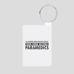 Paramedic design Aluminum Photo Keychain