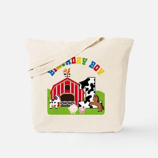 Barnyard 1st Birthday Tote Bag