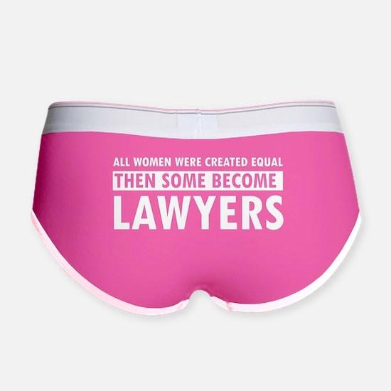 Lawyer design Women's Boy Brief