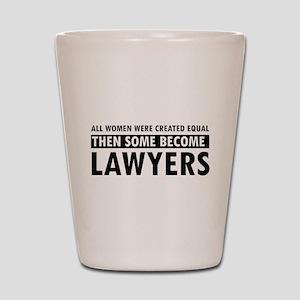 Lawyer design Shot Glass