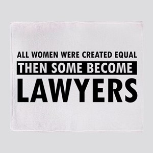 Lawyer design Throw Blanket